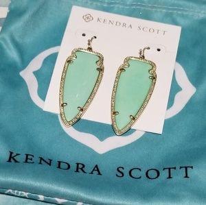 Kendra Scott Mint Skylar Earrings